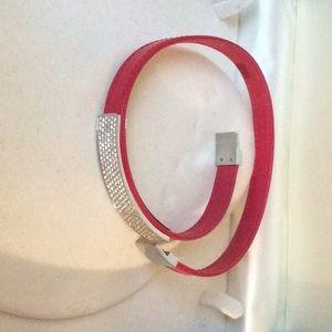 Swarovski red bracelet